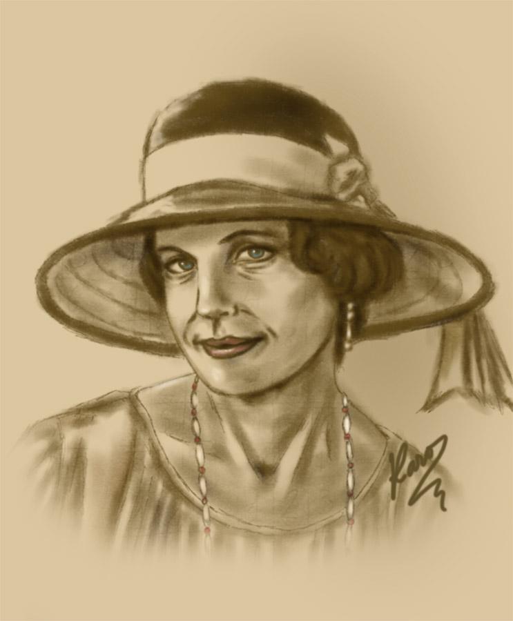 Lady Grantham by KaroruMetallium