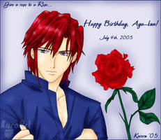 Happy Birthday, Aya-kun by KaroruMetallium