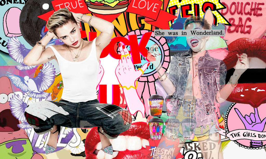 Miley Wallpaper by Galaxy-Love