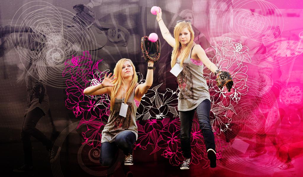 Avril Wallpaper by Galaxy-Love