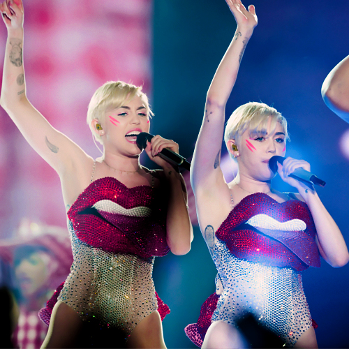 Miley feat. Miley by Galaxy-Love