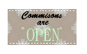 Stamp: Commissions OPEN by Razia1