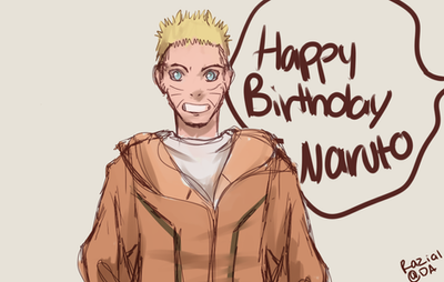 Happy Birthday Naruto by Razia1