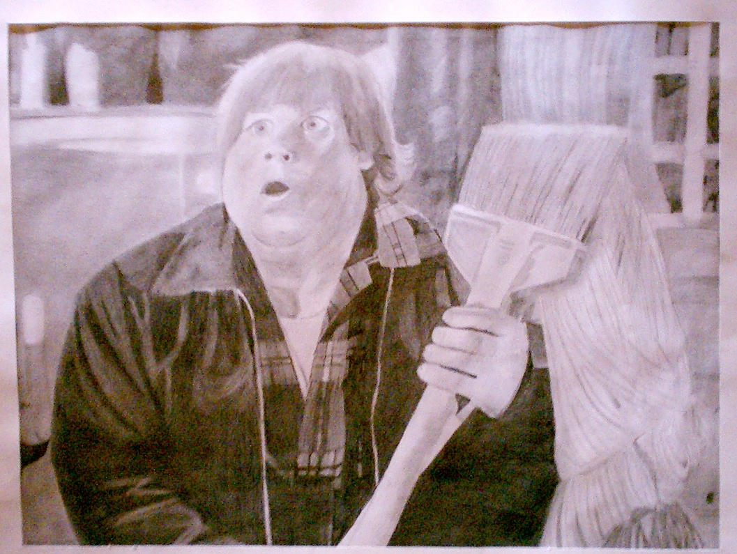 Chris Farley by batmangirl2005