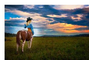 Cowgirl? by mplumb