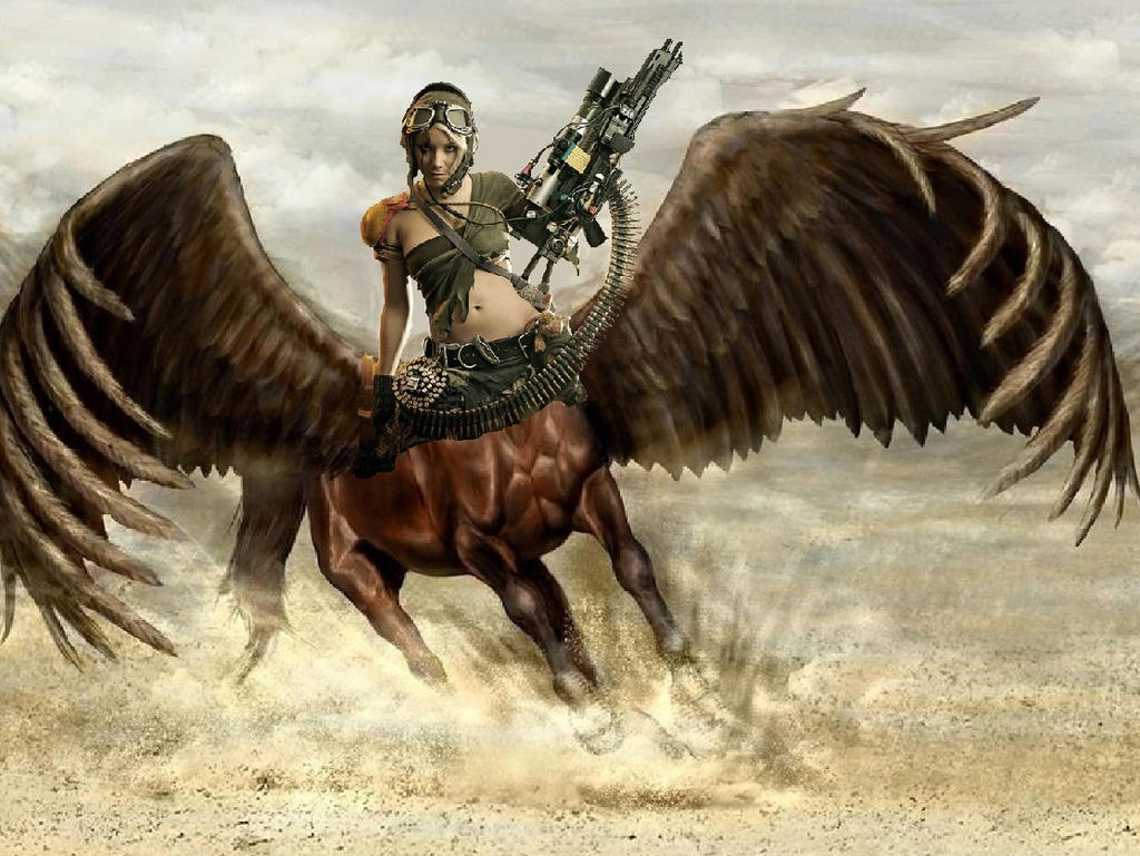 Centaur Rangers - Private-Heavy Gunner- Air Corp by mplumb