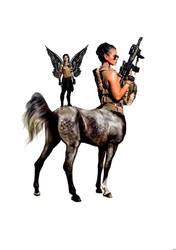 Centaur Ranger - Rifle Specialist with spotter