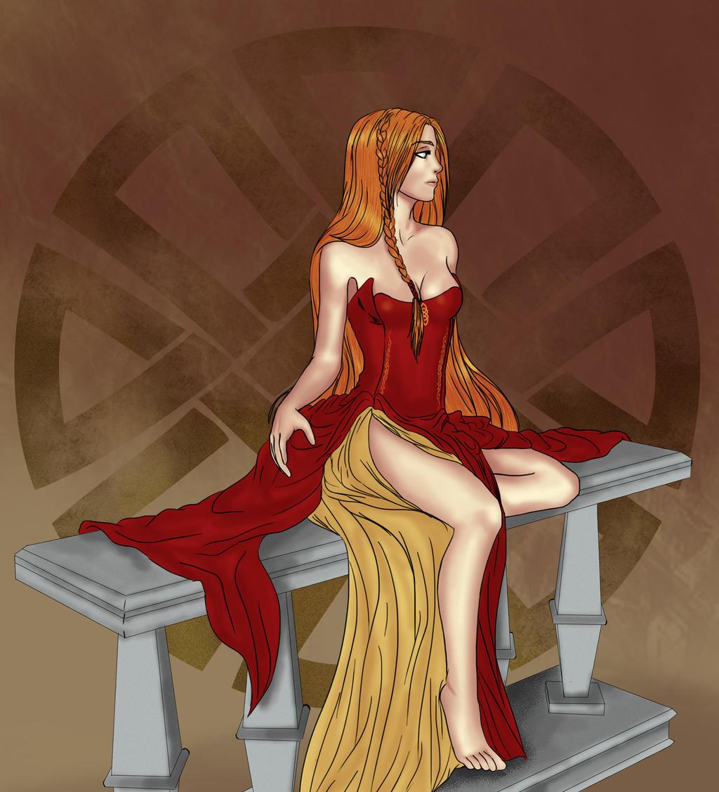 Vestido -Brunilda- by KeelTierraYerma