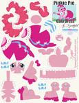 Pinkie Pie Gala Dress Printout