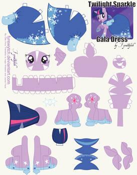Twilight Sparkle Dress Print