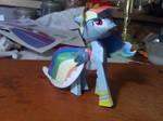 Rainbow Dash Gala Model