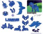 Starlight OC Papercraft