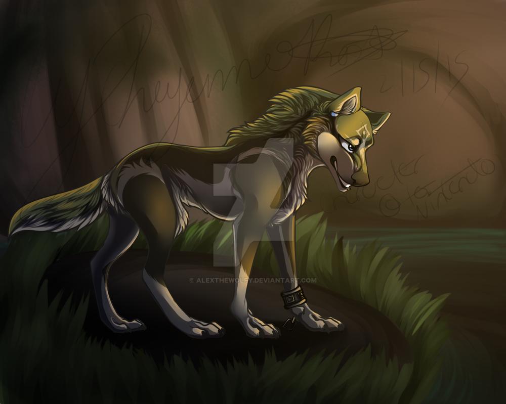 Wolflink by Alexthewolfy