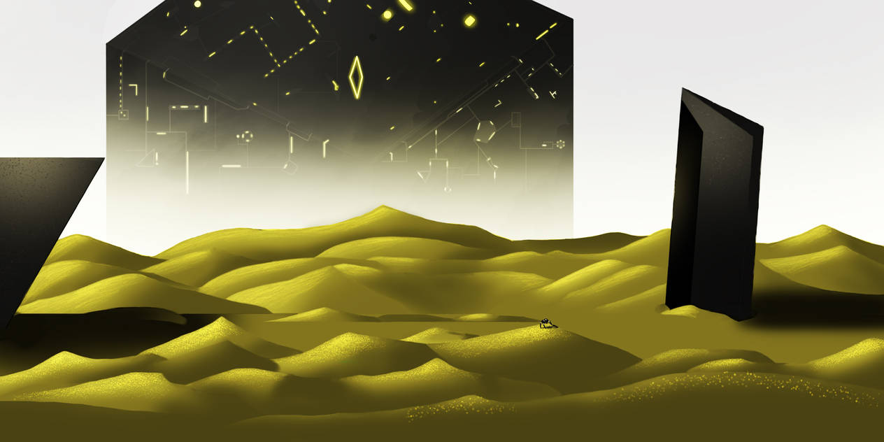 The Yellow Desert by sabson