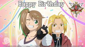 Happy Birthday Fullmetal Alchemist!! 20th