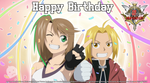 Happy Birthday Fullmetal Alchemist!! 20th by MeckaBlaze-Alchemist
