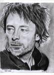 Thom Yorke pencil portrait