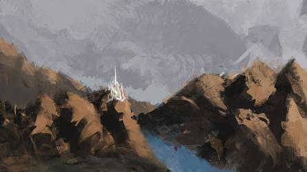Noldor Keep. by erickn