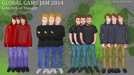 Global Game Jam 2014 by erickn