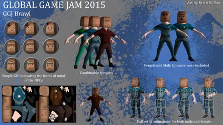 Global Game Jam 2015 by erickn