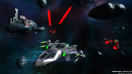 Space Battle! by erickn