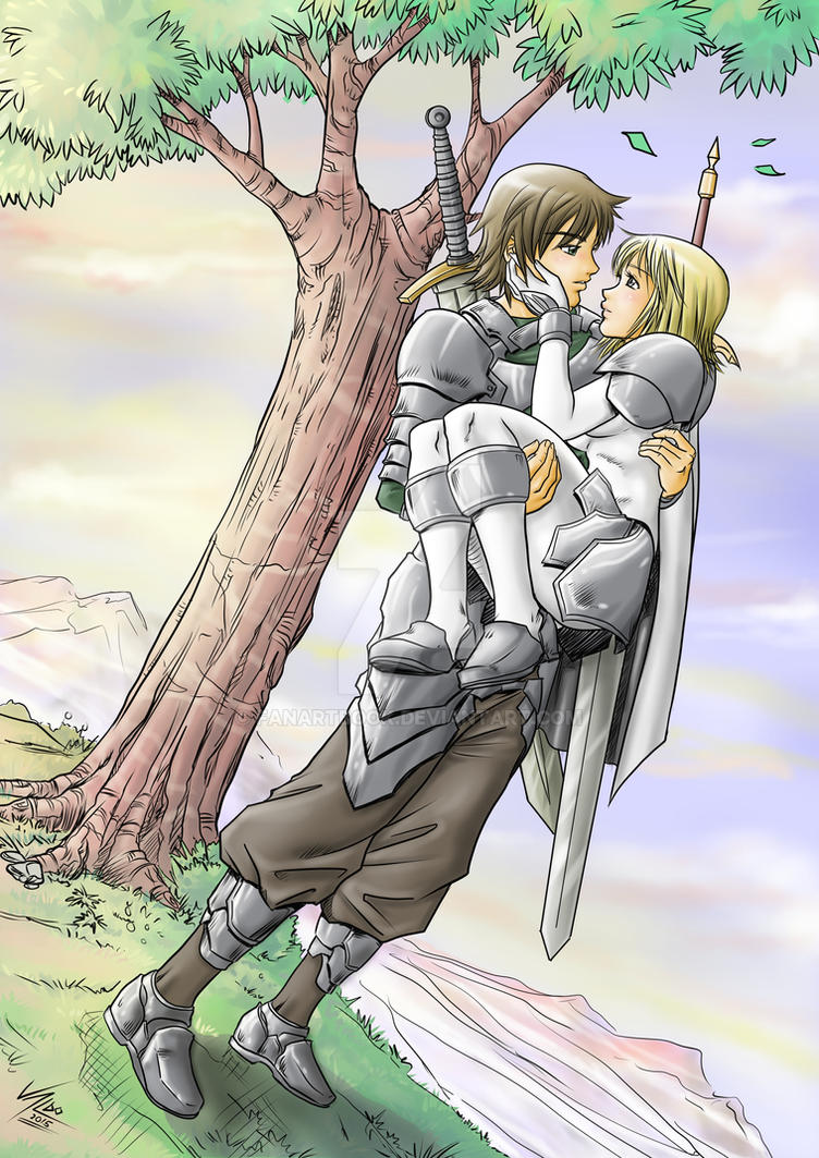 claymore clare and raki relationship