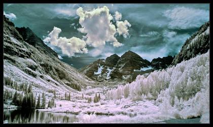 The Valley Of Frozen Dreams by IngoSchobert