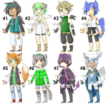 Adopts Batch (3/8 OPEN)(POINTS AND PAYPAL)