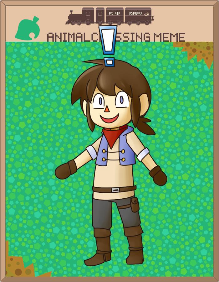 EE Animal Crossing Meme by Whoodles