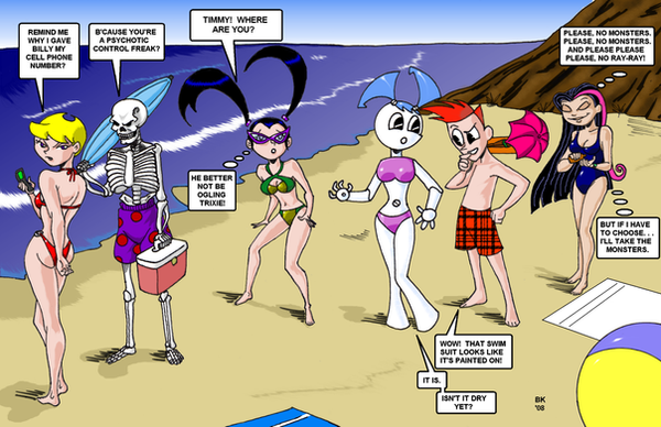 Summer at Toon Beach by GrouchoM