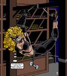 The Blonde And The Wine Cellar Caper