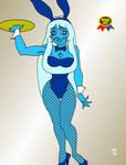 Bunny Jam '19: Blue Diamond by GrouchoM