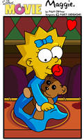 Maggie:Simpsons Movie by kintobor