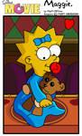 Maggie:Simpsons Movie