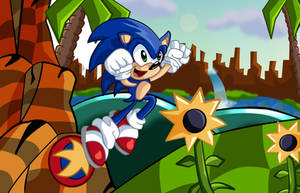 Sonic Green Hill by kintobor