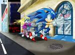 Sonic: Big time hero comin' through