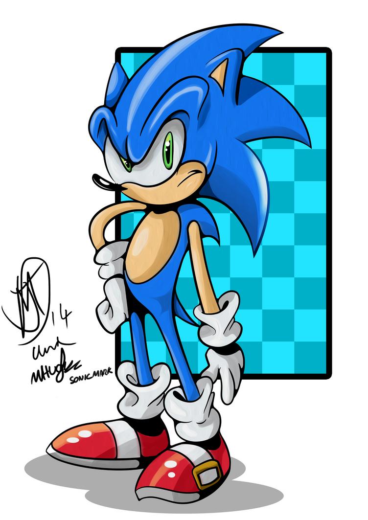 Sonic colab by kintobor