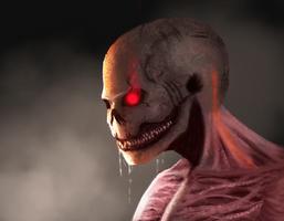 Flesh Skull inferno