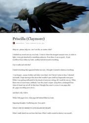 Priscilla, the avatar of hatred by IANVS