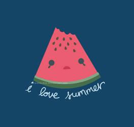 I Love Summer by designslave