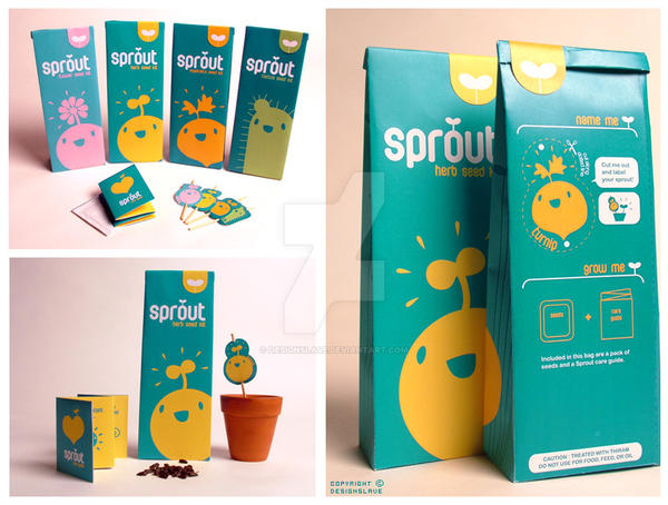 Sprout - seed kits