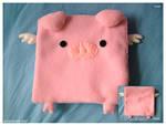 Commission : Flying Piggie