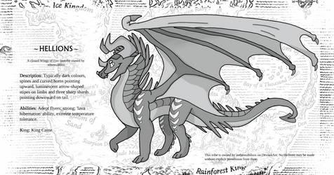 Wings of Fire Fantribe - Hellions!