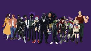 My Hero Academia - League Of Villans (face) by VK-for-da-win