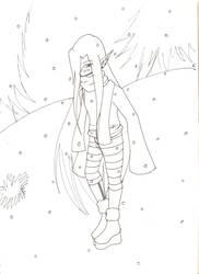 Dream Eyes in the snow by AnkoandOrochimaru