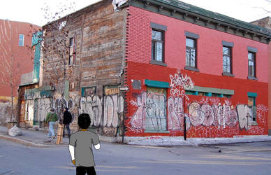 Ghetto City Life by MrTLH97