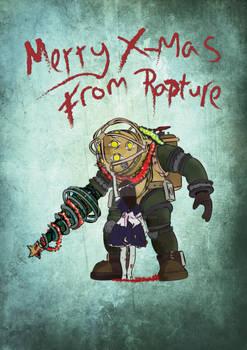 Bioshock Christmas Card