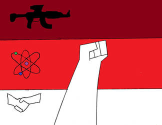 Flag of Redosia by megapirate675