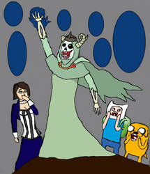 Fan Art Generator: Elizabeth in Ooo by megapirate675