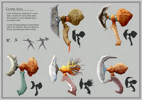 Gourd Axes by Czepeku